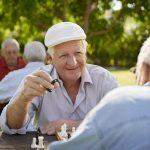 Отдых пожилых людей